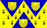Shropshire Large County Flag - 5' x 3'.